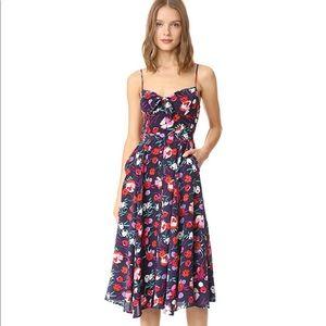 Yumi Kim floral pretty woman midi dress xs